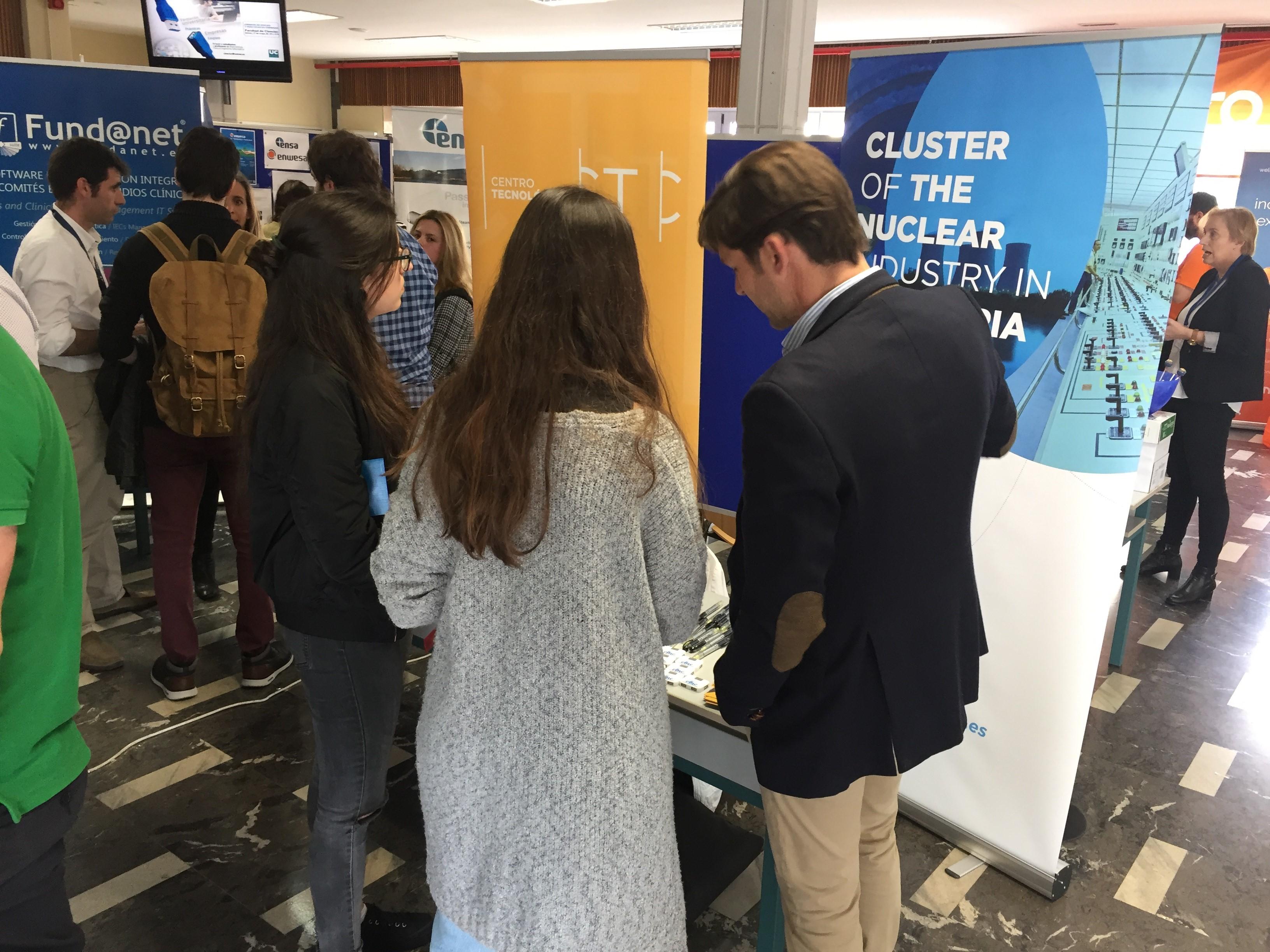 En CINC presente en la III edición de la Feria de Empleo y Prácticas